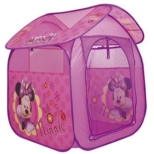 brinquedos menina barraca casa toca minnie rosa