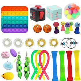 Brinquedos Sensorial Bolha Fidget P/ Aliviar Estresse 31pcs