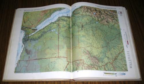 britannica atlas enciclopedia británica mapas en inglés 1970