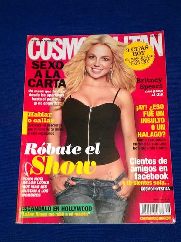 britney spear revista cosmopolitan de agosto 2010