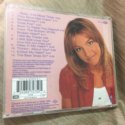 britney spears baby one more time... 12 tracks