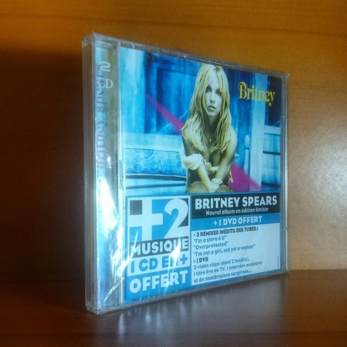 britney spears britney special cd dvd original nuevo sellado