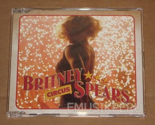britney spears circus maxi-single (australia)  -  emk