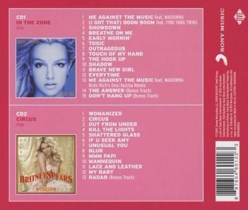 britney spears - double pack / 2 original albums