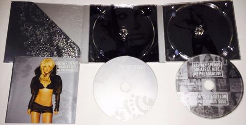 britney spears hits my prerogative ed limitada 2 cd digipack