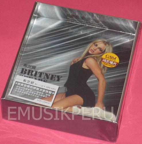 britney spears platinum collection1cd+2dvd nuevo sellado emk