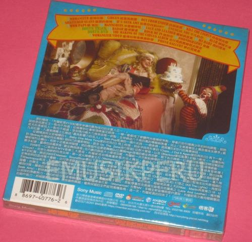 britney spears taiwan circus cd+dvd deluxe - nuevo sellado