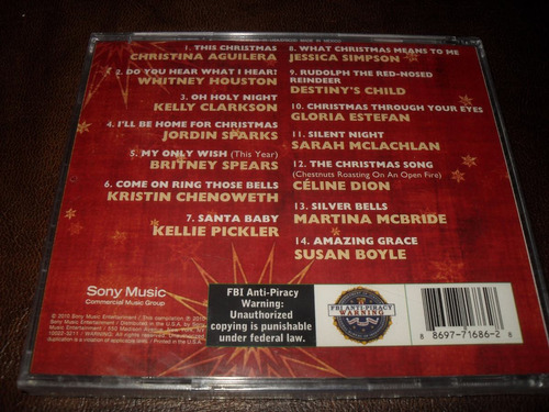 britney spears y varios women of chrismas cd nuevo usa