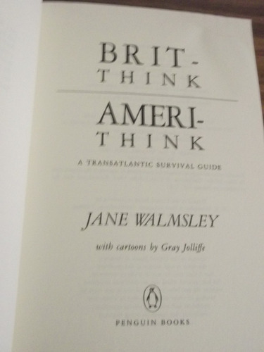 brit.think ameri.think - jane walmsley (ingles)