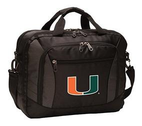 Broad Bay NCAA University of Miami Duffel Bag Miami Canes Gym Bags w//Shoe Pocket