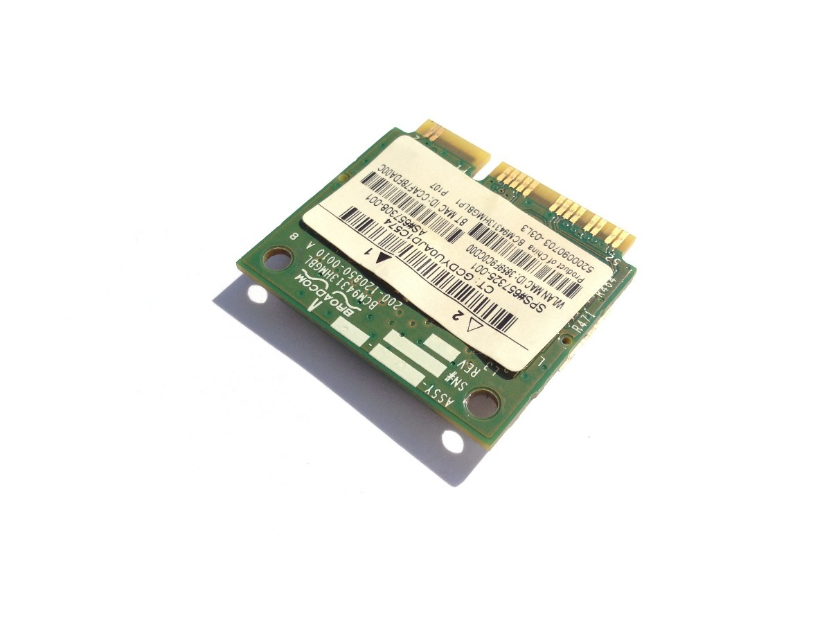 HP Mini 210-1122TU Notebook Broadcom Bluetooth Drivers Mac