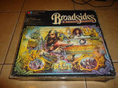 broadsides & boarding parties milton bradley gamemaster 1984