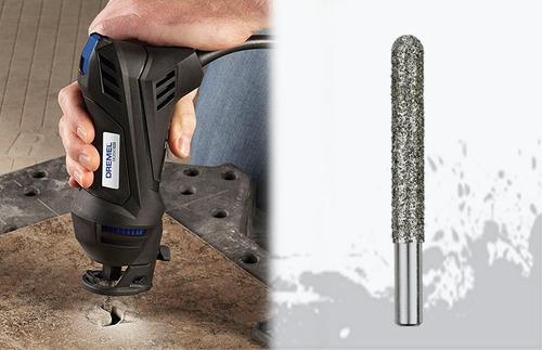 broca de diamante 6.4mm. ad662 para dremel 9050 pro