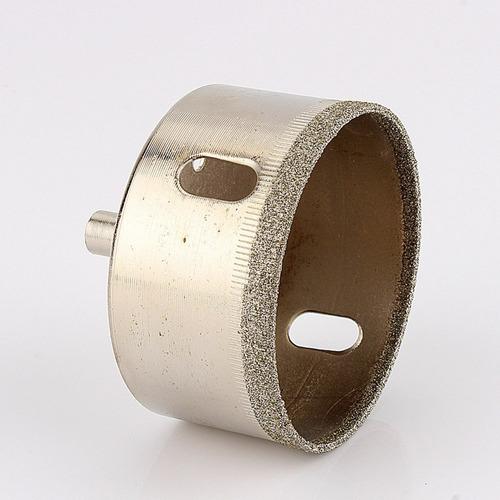 broca diamantada serra copo 45mm fura vidro ceramica madeira