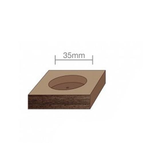 broca fostner para dobradiça gabarito 35 mm envio 24h