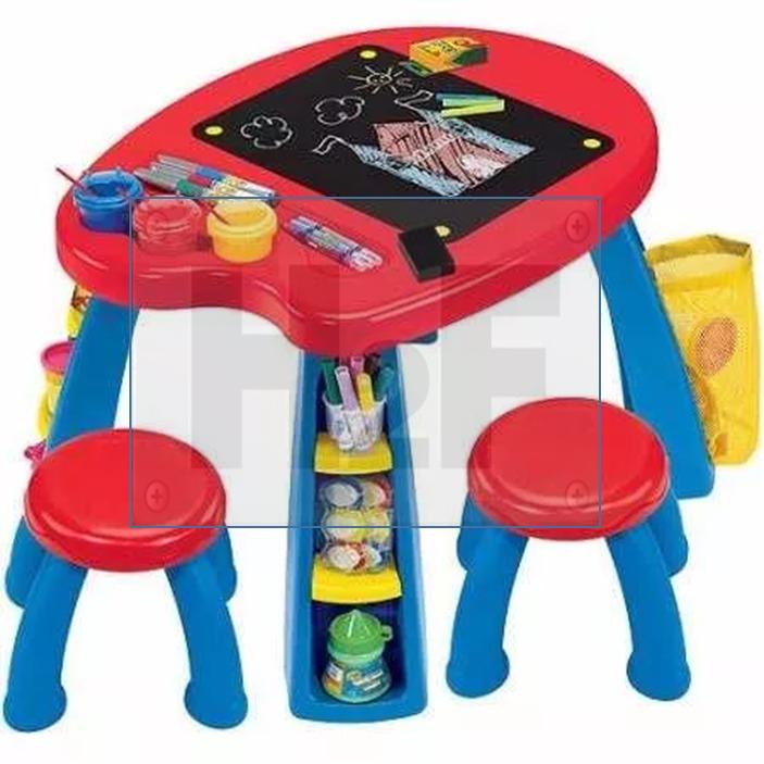 Broca Mesita Infantil Actividades Tareas Crayola Msi - $ 1,589.00 en ...