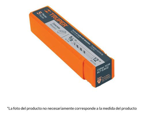 broca para concreto 3/16  x 4  11200 truper