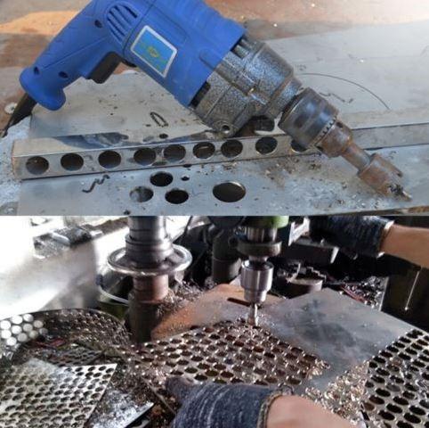 Broca Para Hacer Circulos En Metal 3pcs 19mm 25mm32mm
