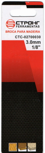 broca para rebaixo de parafuso ( chanfro / escareador) 2.5mm