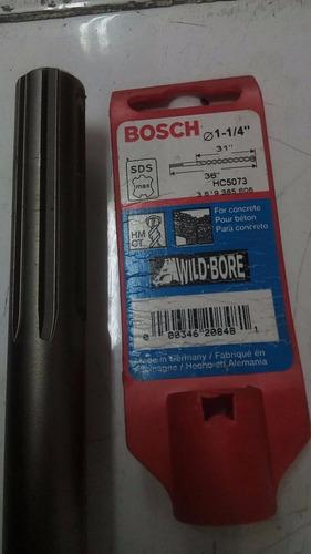 broca sds max de 1 1/4 de 36 pulgadas bosch alemana no hilti