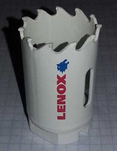 broca sierra bi-metalica 1-1/4 lenox