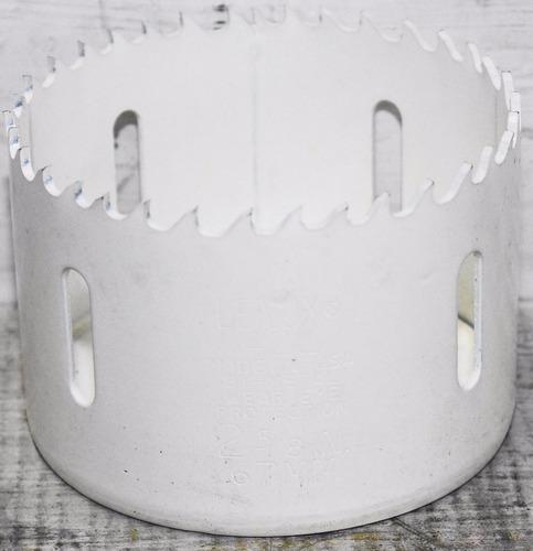 broca sierra bimetálica para metal 67mm lenox  2-5/8