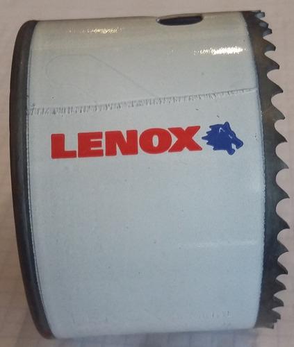 broca sierra bimetálica para metal lenox  2-7/8 (73mm)