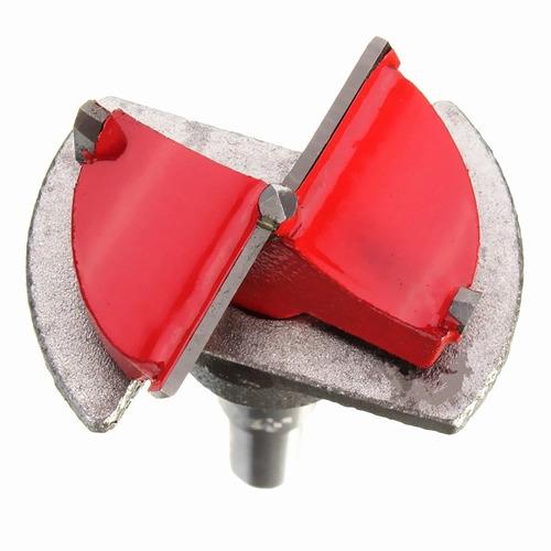broca tipo forsner de 35mm para bisagras bidimencionales