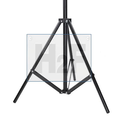 broca tripie para luz lightstand profesional p/fotografiamsi