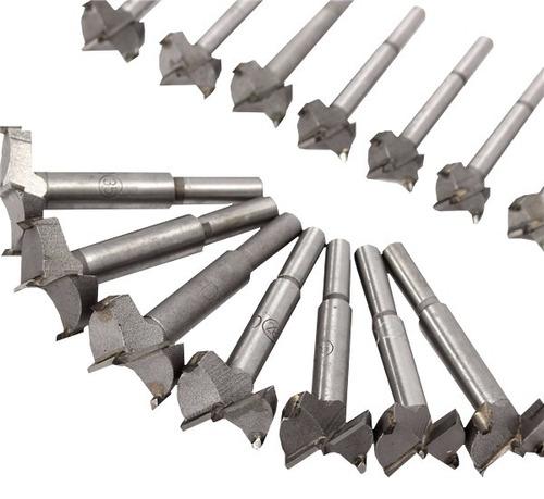 brocas 15-35mm bisagra agujero corte de sierra kit16 piezas