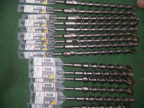 brocas bosch nuevas sds lote de 15 uni 25 y20 mm nuevas