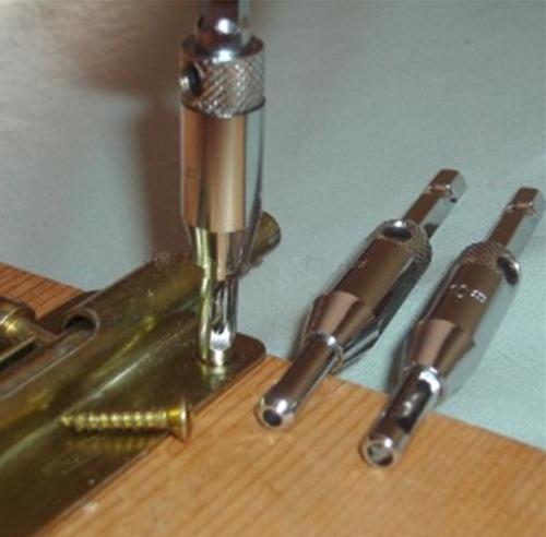 brocas centralizadoras para dobradiça de porta e armários .: