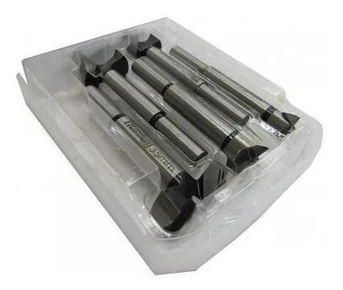 brocas forstner 15-35mm madeira dobradiça 5458 titanium 5pcs
