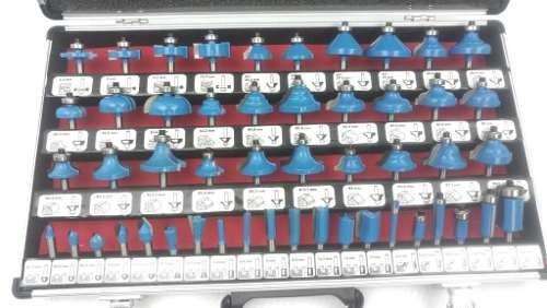 brocas para router 1/4 50 pcs stark nuevo