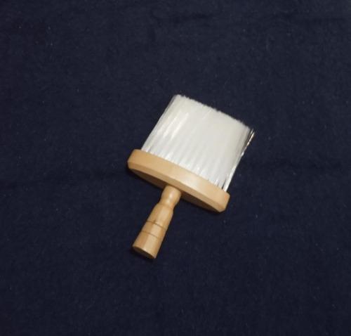 brocha de madera de barbería