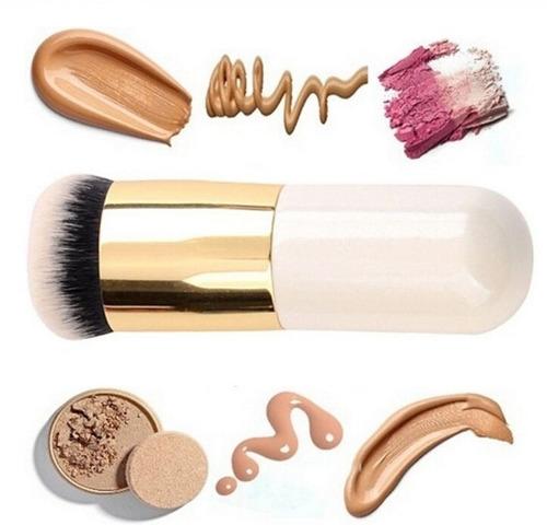 brocha kabuki la mejor maquillaje mineral,compacto y mas