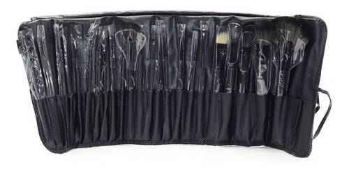 brochas maquillaje 24  mac , zoeva polvos compactos pestañas