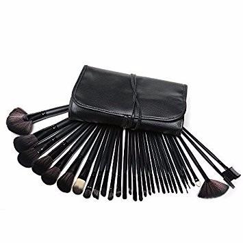 brochas maquillaje 32 pzs set profesional calidad + envio