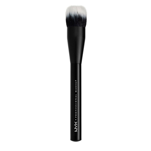 brochas maquillaje para rostro dual fiber brush nyx