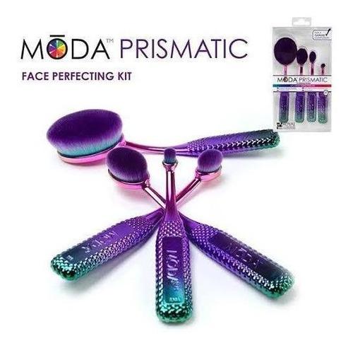 brochas maquillaje profesional contornos moda prismatic make