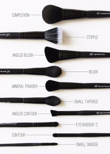 brochas maquillaje small tapered brush elf