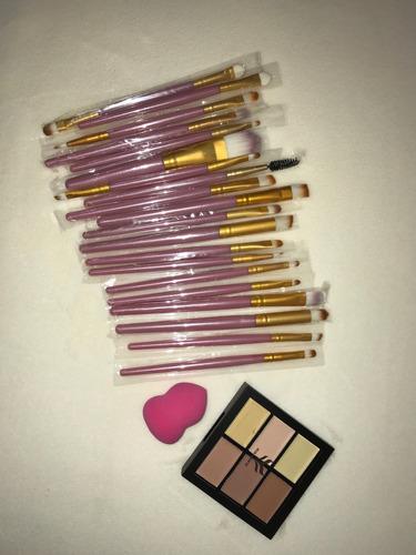 brochas para maquillaje set