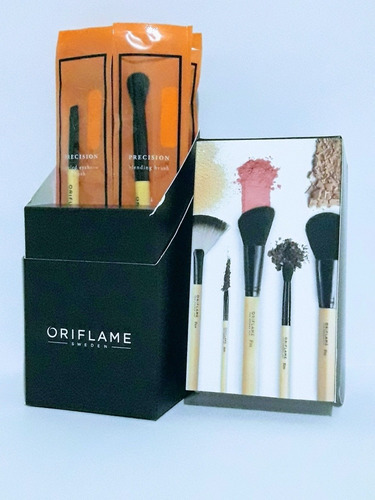 brochas & pinceles maquillaje- un - unidad a $10000