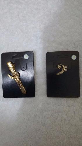 broche de instrumentos musicais modelo clave de fá