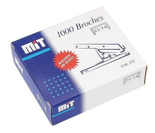 broche mit para abrochadora 23/24 x 1000 heavy duty ganchito