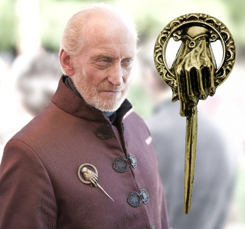 broche mão do rei hand of the king game of thrones got novo