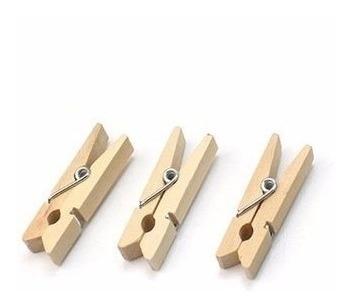 brochecitos de madera deco accesorio malla metálica x10u