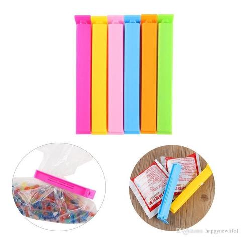 broches cierra bolsa plastico x 10 unidades