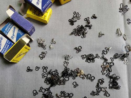 broches de gancho antiguos de modistas