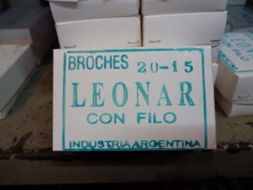 broches linea 20 abrochadoras  imprenta talonarios tipo ph